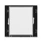 Kryt zaslepovací, Element®, biela / ľadová šedá