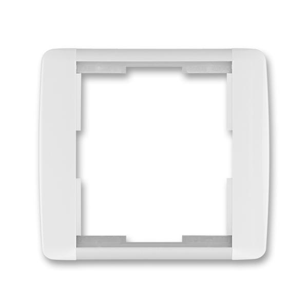 Rámček pre elektroinstalačné prístroje, jedno násobný, Element®, biela / ľadová biela