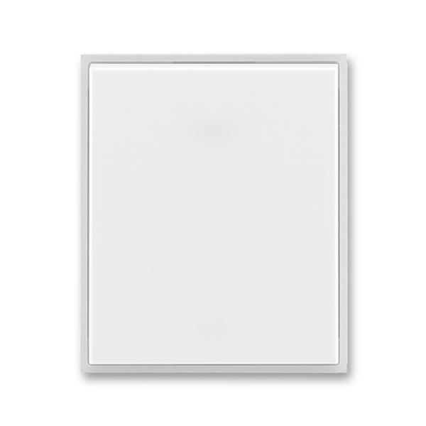 Kryt spínača kolískového, Time®, Element®, biela / ľadová biela