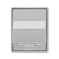 Kryt zásuvky ISDN s 2 otvormi, Time®, Time® Arbo, titánová
