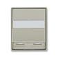Kryt zásuvky ISDN s 2 otvormi, Time®, Time® Arbo, starostrieborná