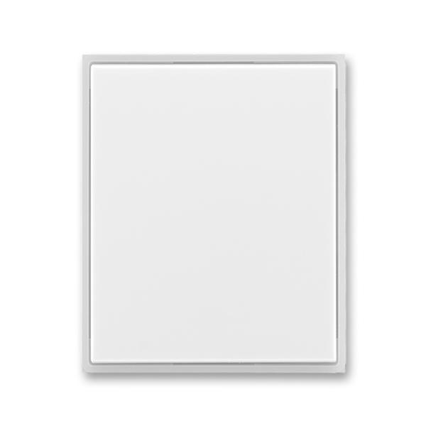 Kryt stmievača s krátkocestným ovládačom, Time®, Element®, biela / ľadová biela