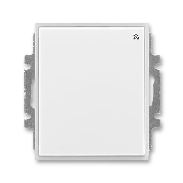 Spínač s krátkocestným ovládačom, s přijímačom rádiofrekvenčného (RF) signálu, Time®, Element®, biela / ľadová biela