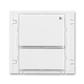 Vysielač rádiofrekvenčného (RF) signálu dvojtlačidlový, nástenný, Time®, Element®, biela / ľadová biela