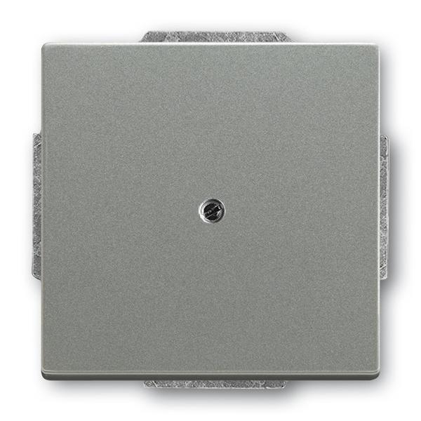 Kryt zaslepovací, Solo®, Solo® carat, metalická šedá