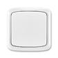 Prepínač krížový IP 44, zapustený, Tango®, biela