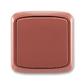 Prepínač krížový IP 44, zapustený, Tango®, vresová červená