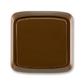 Prepínač krížový IP 44, zapustený, Tango®, hnedá