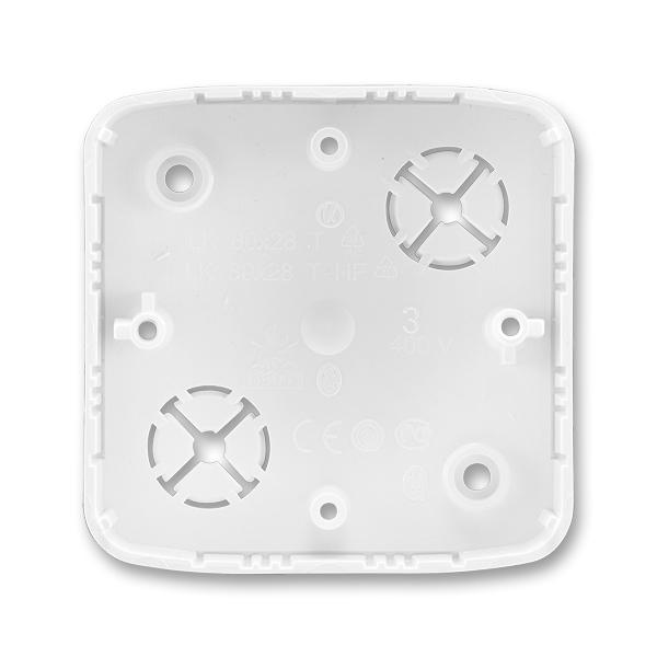 Krabica prístrojová, nástenná, Tango®, biela